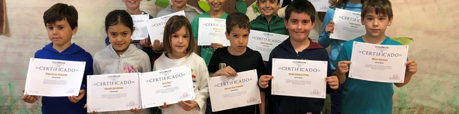 Concurso internacional de cálculo mental SUPERTMATIK